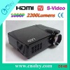 Promotion HDMI LED Projector 2200Lumens High Brightness