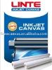 Solvent inkjet canvas