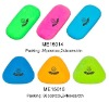 Student eliptic and triangle shaped colorful eraser