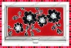 Stylish Card Holder/Business Card Case with Flower Patterns