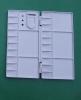 TS-049plastic palette,color palette,paint palette,wooden palette,art material,artist palette,drawing palette