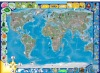 Wallpaper World Map for students and children