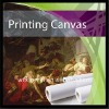 Water Resistant Cotton&Blend Inkjet painting Canvas