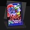 Xmas promotion tool led exhibition board manufacturer