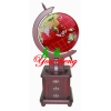 YC-B0006 red gemstone globe with cabinet
