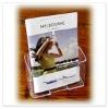 acrylic single tier brochure holder