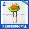 any color and size available for rubber bookmark, promotional rubber clip