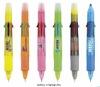 ball pen + highlight pen