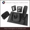 black desk stationary set kint pu material