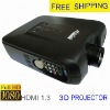cheap 3d projector with built-in digit TV receiver for home cinema-VS605
