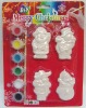 christmas degsin ceramic paint set