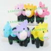 colorful mini cow eraser for children