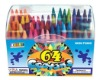colorful wax crayons