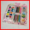 crayon kit set ,pencil sharpener and crayon,color pencil