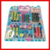 drawing kit set ,pencil sharpener and crayon,color pencil