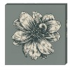 flower oil painting canvas