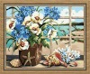 flower painting by number for wholesale (40*50cm)