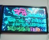 fluorescent led screen led board 30*50