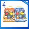 fruit shaped eraser set