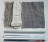 glass rod with silk teaching instrument