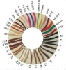 hair color sample ring