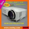 low cost hd led projector 1080p for sale with dvb-t/usb