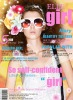 magzine cover with 3D deep effect
