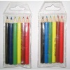 mini wooden color pencils