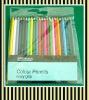 multi colorized pencils