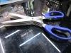 multilayer and 5 (five) blades shredder scissors