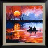nature beauty DIY number Oil Painting on100% cotton Canvas (40*40cm)