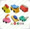 normal car shaped eraser