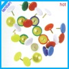 office stationery color vinyl thumb tack