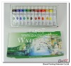 paint colour:12color 12ml water color pack in aluminium tube