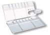 painting case,painting boxTS-017 palette,plastic palette,color palette,paint palette,wooden palette,art material,artist palette