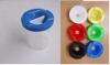 painting pot, paint pot, brush pot TS-056 brush washer,brush barrel,palette,plastic palette