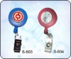 plastic retractable badge reel BTBR31
