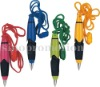 plastic twist pens with lanyard(R2698A)