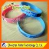 printed silicone wrist bangle