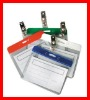 pvc id badge holders