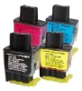 refillable ink cartridge LC41BK/41C/41M/41Y for Brother DCP-110C/115C/117C/120C/310C/315CN/340CW