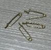 small copper pin