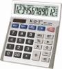 solar calculator with comfortable rubber sides anti-slip design KT-3388