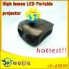 the high lumen led mini projector
