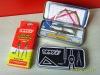 tody student math set, school using mathematical set, tin box math set
