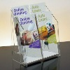 transparency acrylic advertising stand