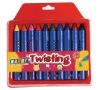 twisting crayons