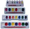 water color paint set for children to draw