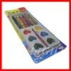 wax colors crayon and watercolor