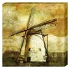 windmill canvas painting for sale
